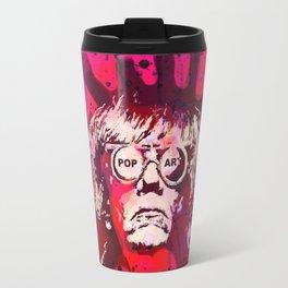 Pop-Art KING - Quote Travel Mug