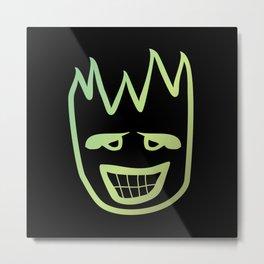 Fire face  #society6 #decor #buyart #artprint Metal Print