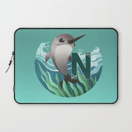 N is for Narwhal Laptop Sleeve