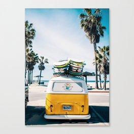 Surf van Canvas Print
