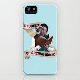 Wizard: Student of Arcane Magic iPhone Case