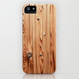 Kyoto Wood iPhone Case