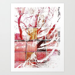 The Bewitched Tree 7 - pimped! Art Print