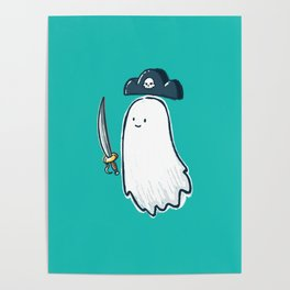 Pirate Ghost Poster