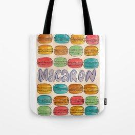 Macaron NOT Macaroon Tote Bag