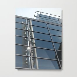 tower in glass Metal Print