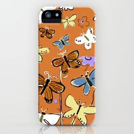 Butterflies Butterflies iPhone Case