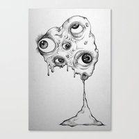 the thing Canvas Prints featuring Thing by Isabel Moffly