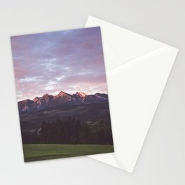 Early morning Stationery Cards
