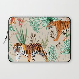 Tropical & Tigers Laptop Sleeve