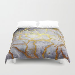 KINTSUGI  ::  Recognise Beauty Duvet Cover