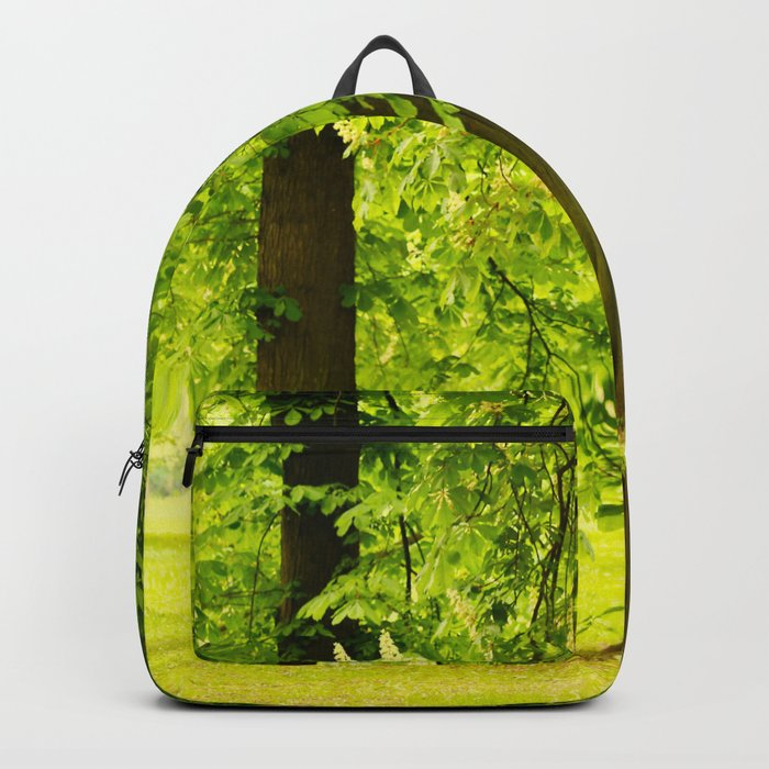 One day in the park - tranquil mood - #society6 #buyart Backpack