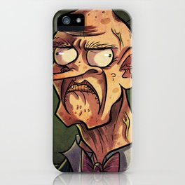 I Frown At You. iPhone Case