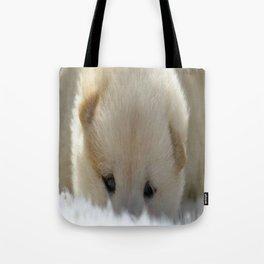 Shiba Inu Puppy Tote Bag