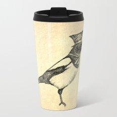 Hello Mister Magpie Metal Travel Mug