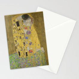 The Kiss - Gustav Klimt Stationery Cards