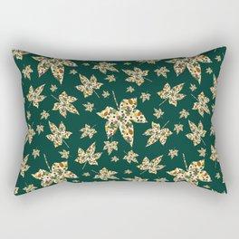 Autumn Green Rectangular Pillow