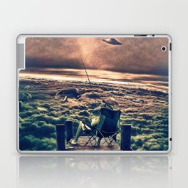 Fishing Above the Clouds Laptop & iPad Skin