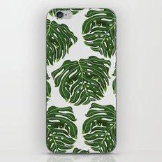 Monstera Pug iPhone Skin