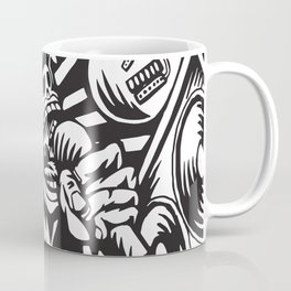 Illustration of Rock Concert Coffee Mug
