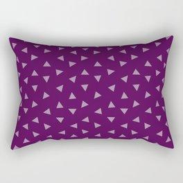 Purple Christmas 1 Rectangular Pillow