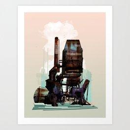 Sea Stacks Art Print