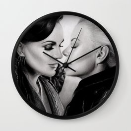 SwanQueen: The Untold Story Wall Clock