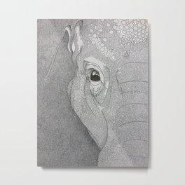 A mazing elephant II Metal Print