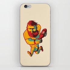 Rugby Bomb iPhone & iPod Skin