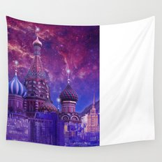 Hipsterland - Moscow Wall Tapestry