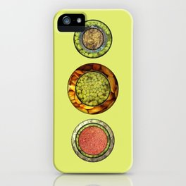 Food Mix Tris iPhone Case