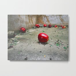 Still Life After Party Metal Print