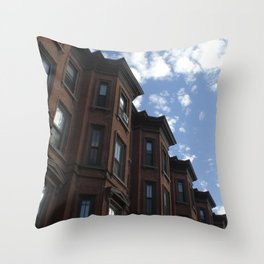 Rowhouses, Albany Throw Pillow