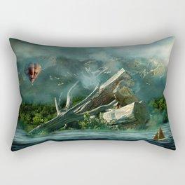 the high flyer Rectangular Pillow