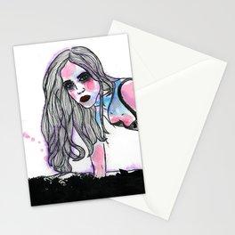 Elf Mädchen.  Stationery Cards