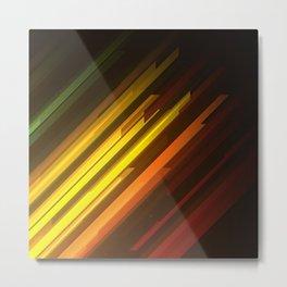 Procedural Diagonals 002 Metal Print