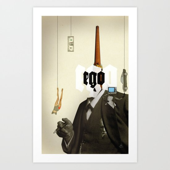 The truth is dead 5 Art Print