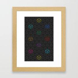 Cubes No. 1 Framed Art Print