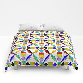 symetric patterns 56 -mandala,geometric,rosace,harmony,star,symmetry Comforters