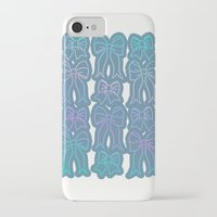 bows iPhone & iPod Cases featuring Bows by Jessica Slater Design & Illustration