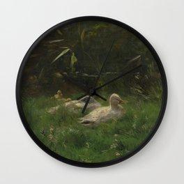 Willem Maris - Eenden Wall Clock