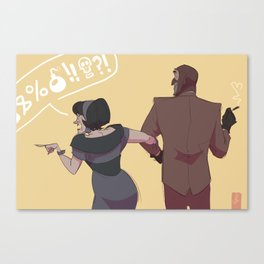 Love you, Scout's Ma Canvas Print
