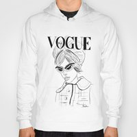 vogue Hoodies featuring Vogue Italia by Bella Harris