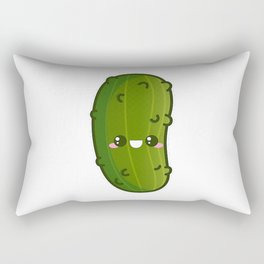 Kawaii Pickle Rectangular Pillow