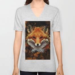 Cool Fox Unisex V-Neck