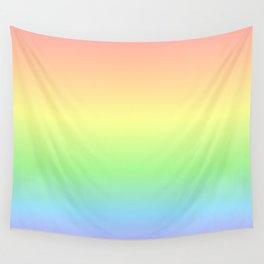 Pastel Rainbow Gradient Wall Tapestry