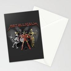 Metallicals (Colaboration between Faniseto & Fuacka) Stationery Cards