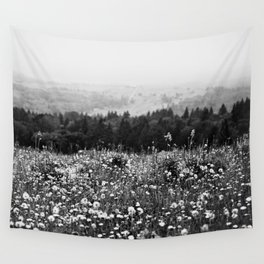 Mountain Wildflowers Wall Tapestry