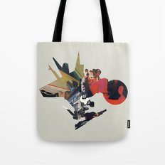 The Other Side of Shattered Glass Tote Bag