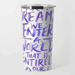 In Dreams Travel Mug